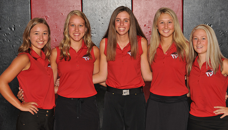 2018 Girls' Golf Returning Lettermen