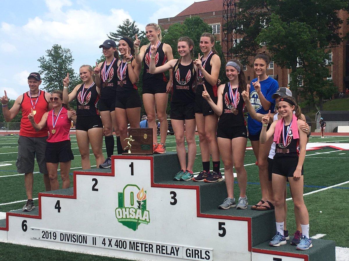 Girls' Track Regional Champs