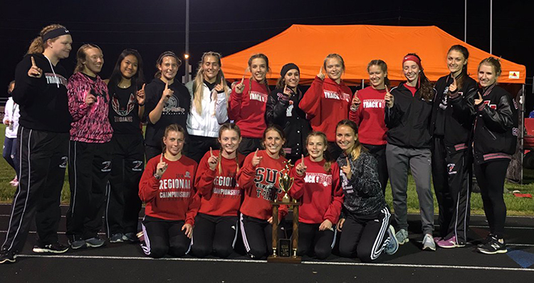 Girls Track IVC Champs