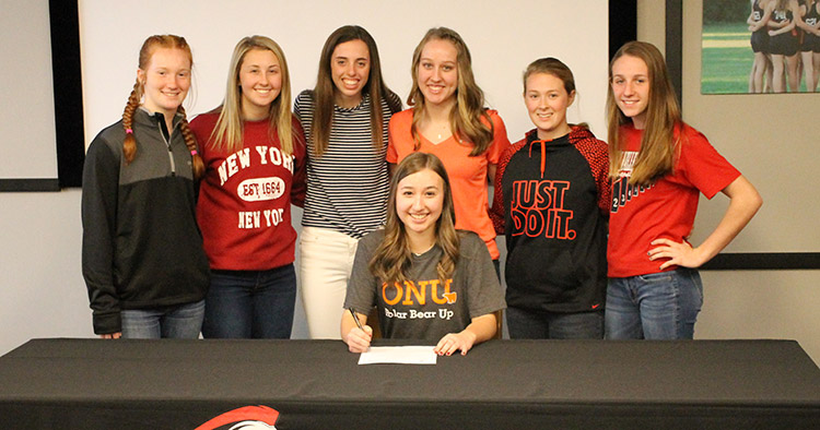 Olivia Galigher SIgns with Ohio Northern
