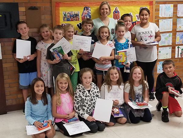 Summer Reading Challenge Winners