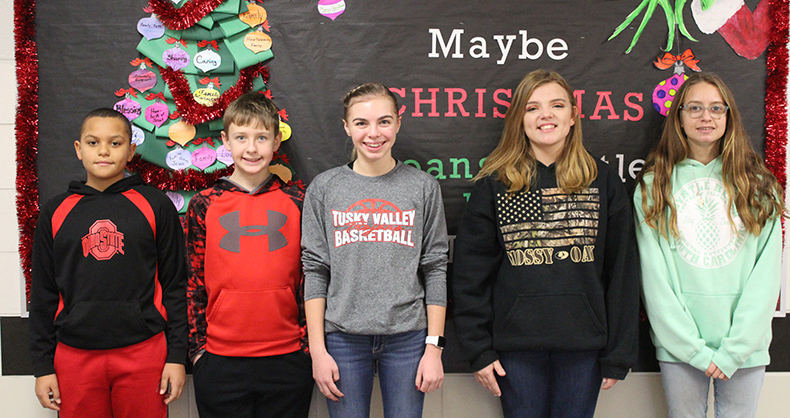 TVMS December Students of the Month