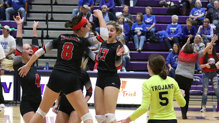 Volleyball Celebrates Regional Title