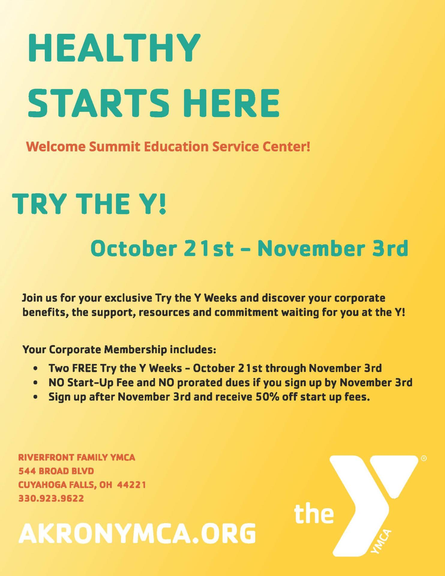 Try the Y!