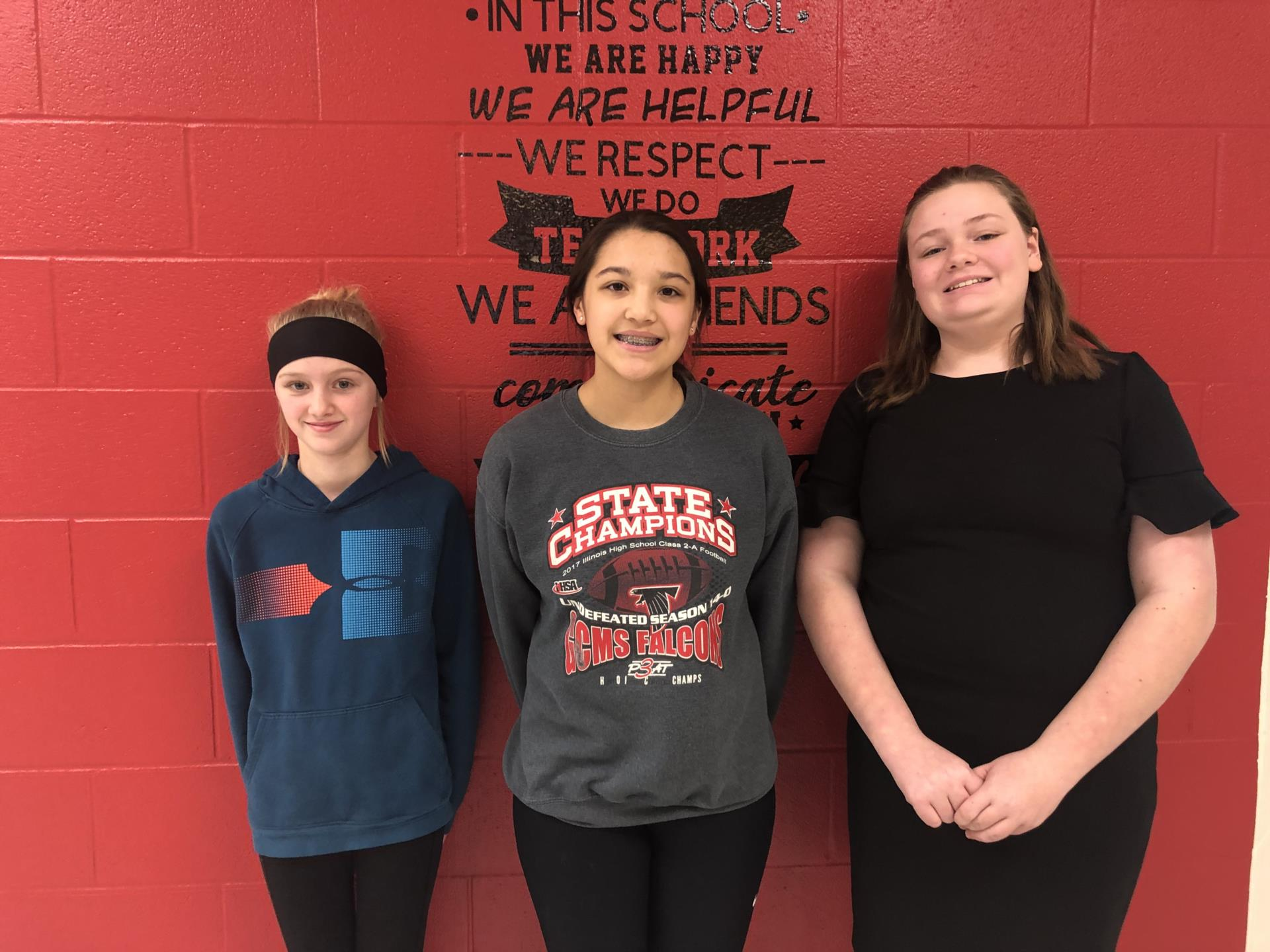 Jan 2020 students of the month