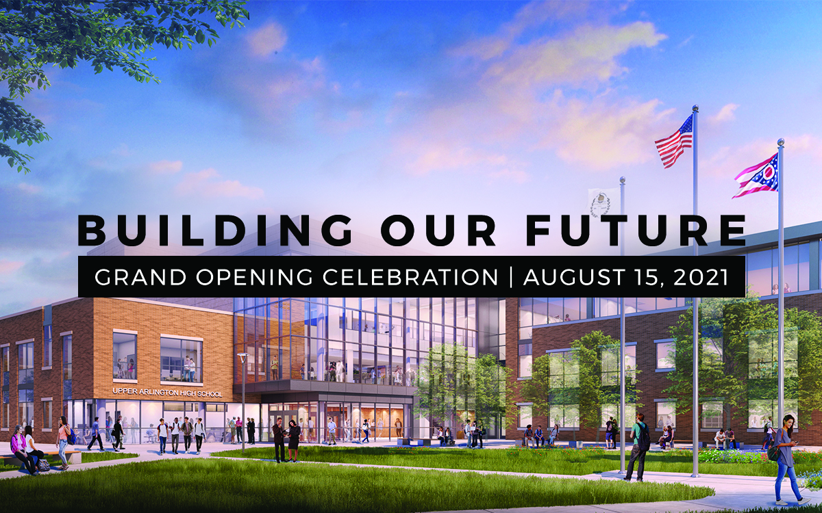 Building Our Future grand opening celebration art