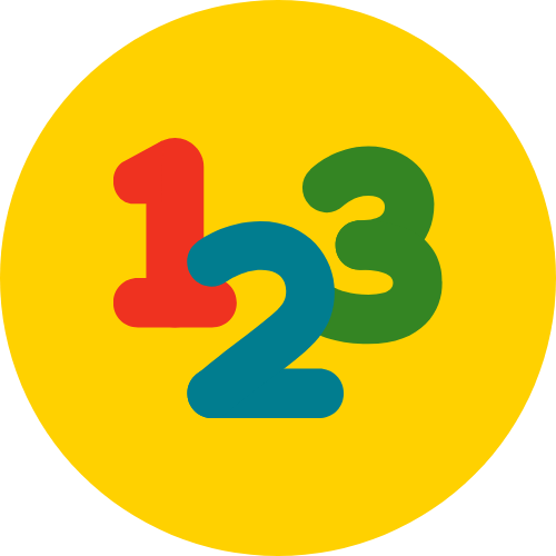 An icon of the numerals 1, 2 and 3