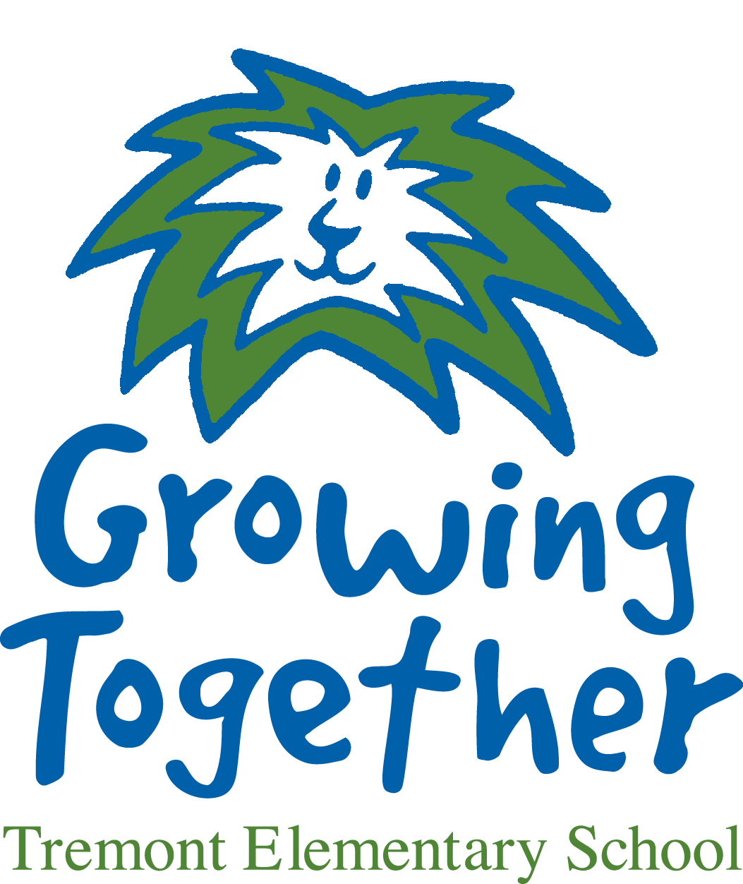Tremont Elementary School Growing Together logo