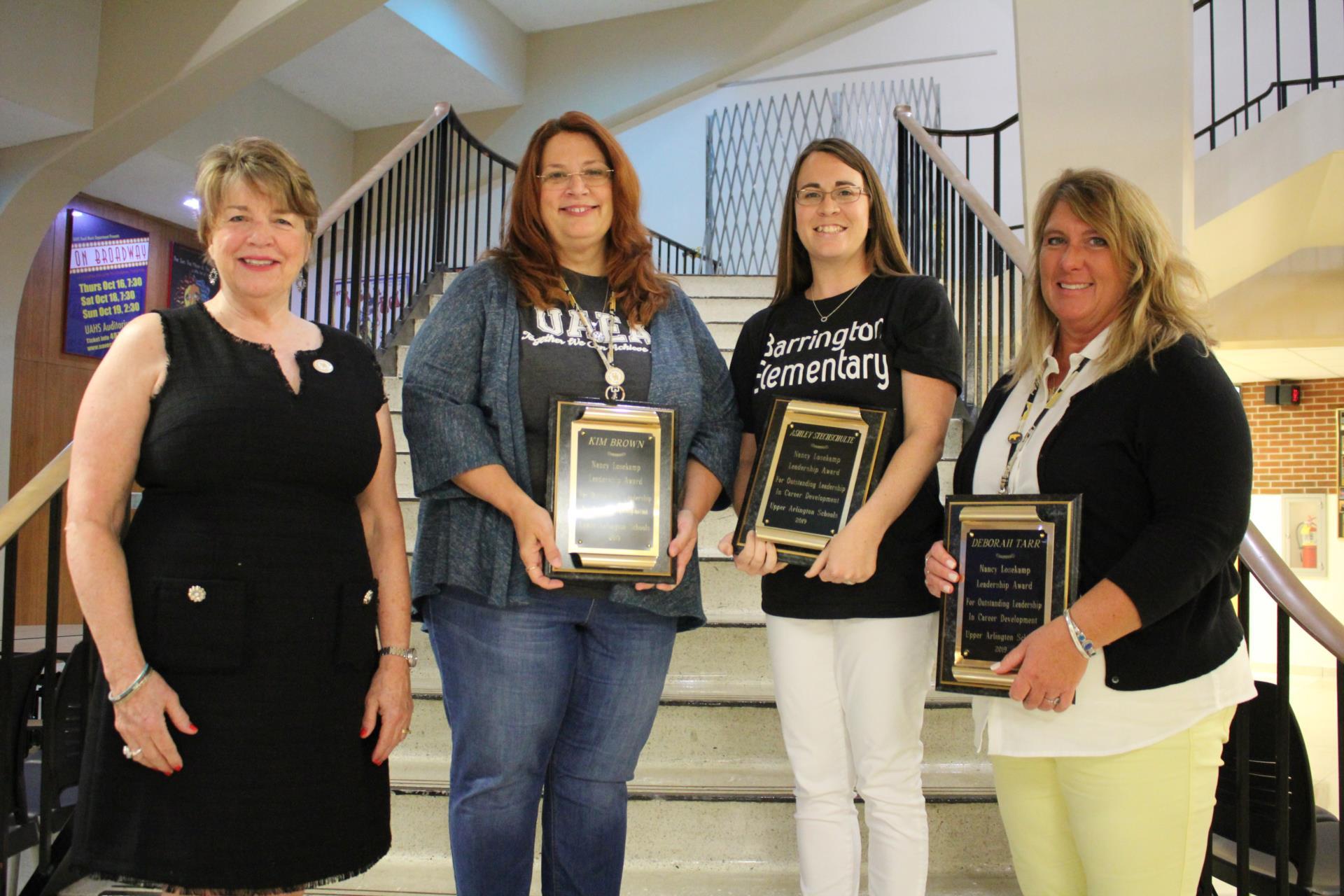 The Losekamp Award winners
