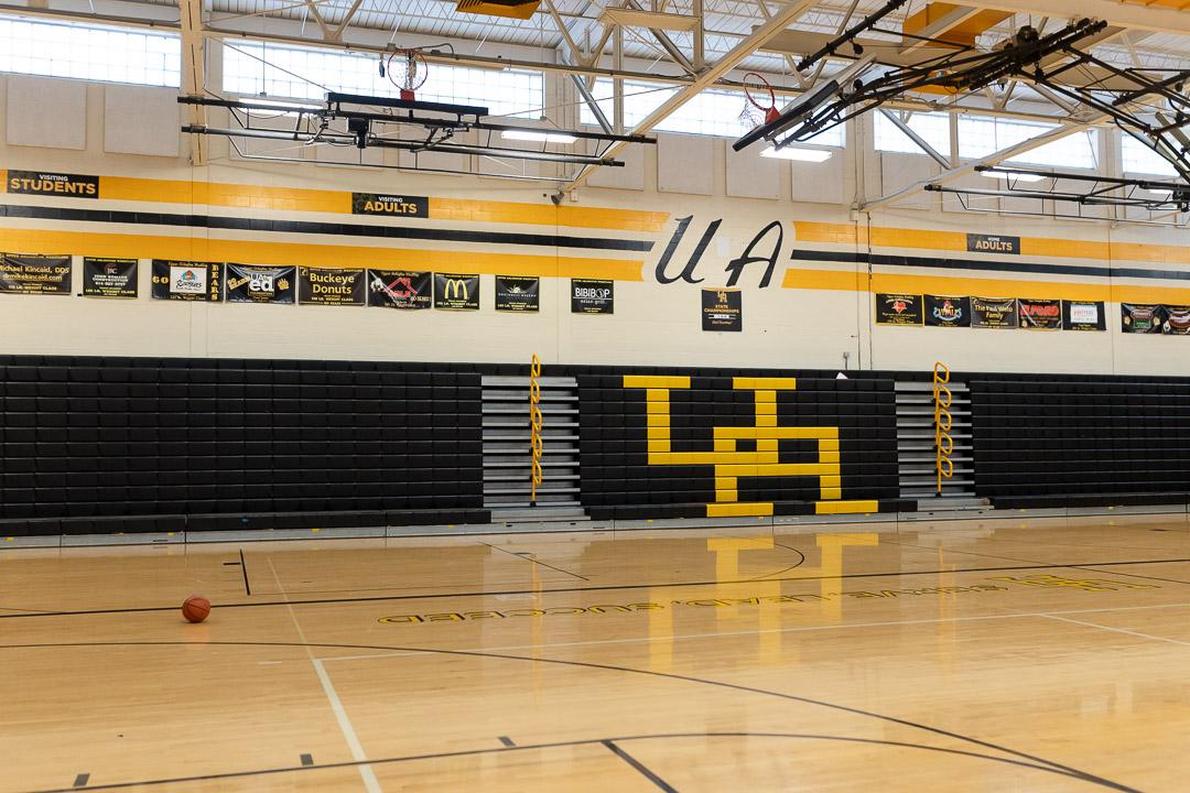 The varsity gymnasium