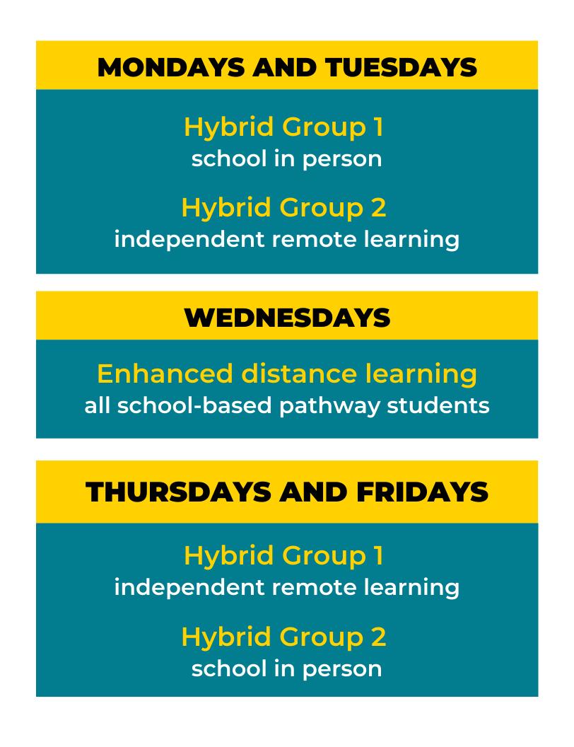 new enhanced hybrid schedule