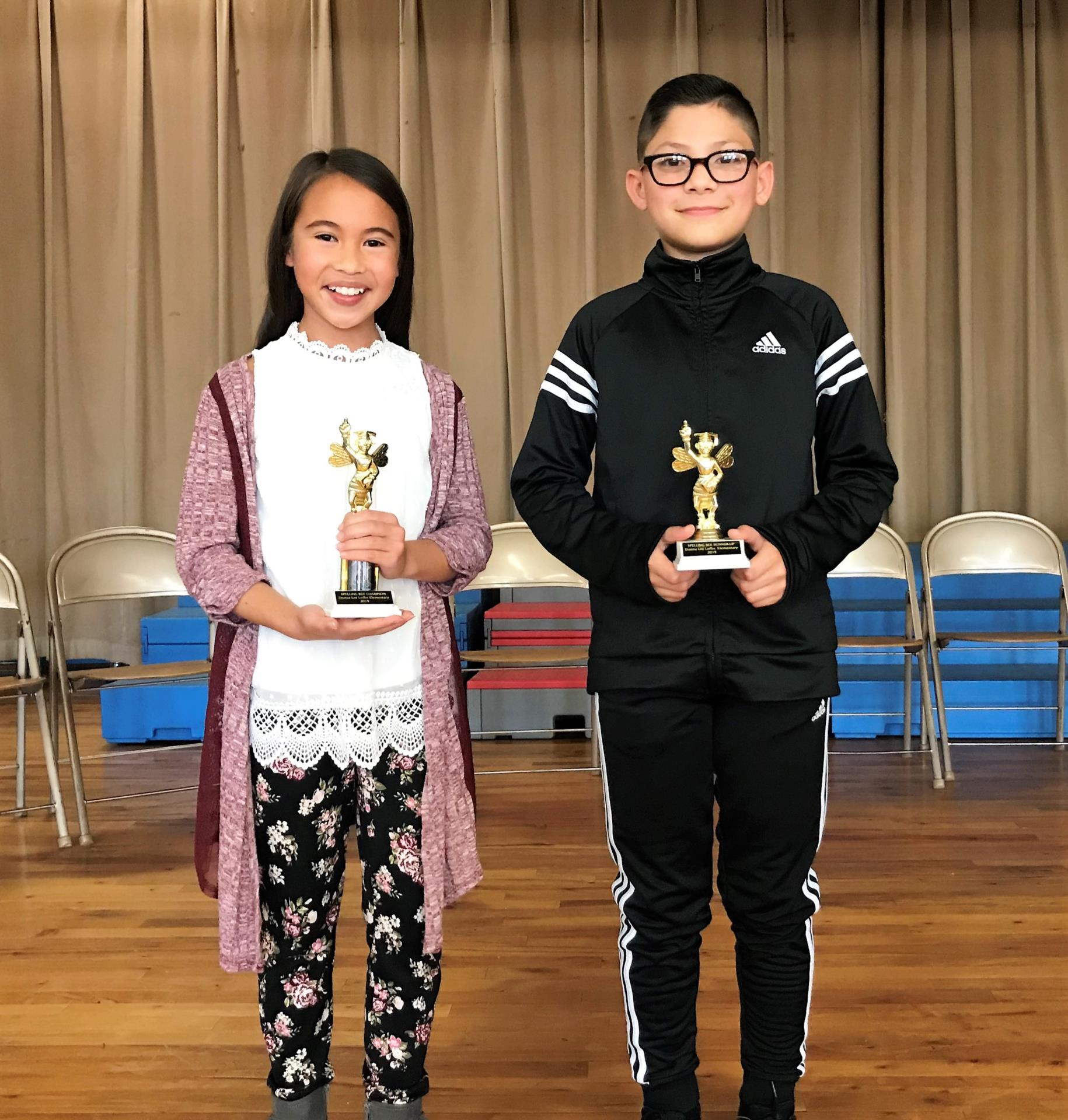 2019 DLL Spelling Bee Winners