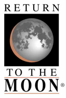 Moon mission logo