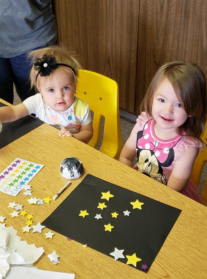 Toddlers in Space